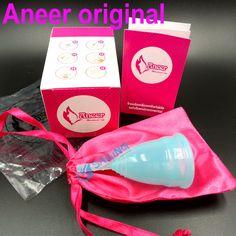 50pcs/lot Wholesale diva menstrual cup feminine medical grade silicone health care lady cup coupe menstruelle 0ZK