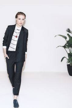 """Rock a suit. It's THE tomboy staple."" - Evan Rachel Wood"