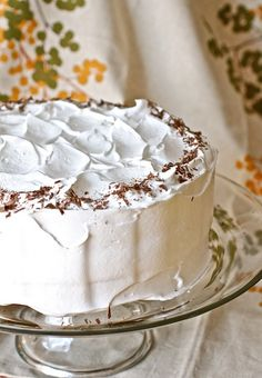 Devil's Food Cake and 7 Minute Frosting
