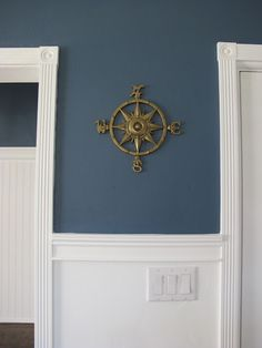 Tried and True Nautical Blue Paint Colors. Explore a few tried and true nautical blue paint colors for walls and cabinetry and see examples of the coastal shades in rooms. Nautical Paint Colors, Nursery Paint Colors, Boy Room Paint, Blue Paint Colors, Bedroom Colors, Nautical Wall Paint, Nautical Painting, Nautical Theme, Nautical Dining Rooms