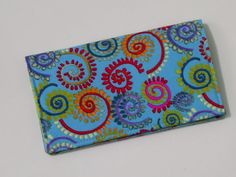 Checkbook Cover for Duplicate Checks with by creativemoments, $12.00