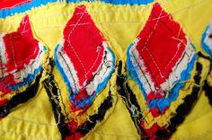Miss Sews-it-all: Vintage Apron: Seminole Piecing