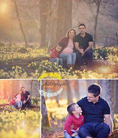 Pregnancy photoshoot in the forest Fotografía de embarazadas - Bilbao www.lephotograph.es