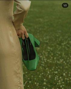 Green Pumps, Green Heels