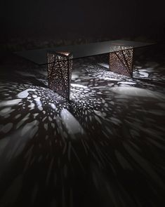 The Riddled Table  Designed by Steven Holl for Horm