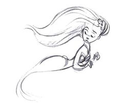 A Pequena Sereia - Teste de Animação
