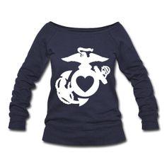 Need! {Heart} Eagle Globe & Anchor USMC sweatshirt