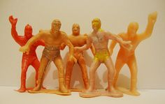 Mini Luchadores antiguos 70-80´s by José Migueles Toy Bootleg, via Flickr