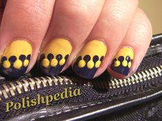 Zipper Nail Art!  I loved doing this nail art and it is extremely easy to do.    Watch as I walk you through the step by step process @ polishpedia.com/zipper-nail-art.html