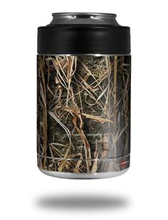 WraptorCamo Grassy Marsh Camo  Decal Style Skin Wrap fits Yeti Rambler Colster and RTIC Can COOLER NOT INCLUDED *** Check out the image by visiting the link.