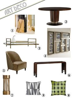 Cozy•Stylish•Chic - Inspiring design, decor and fashion. Art Deco for the home - get the look!