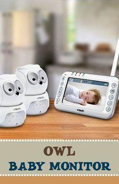 Owl baby monitor, nursery idea #affiliate #owls #bedroom #must #haves #owls #ideas