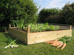 wooden planters, garden planters, container gardens