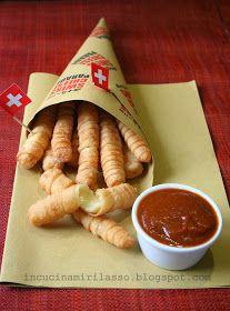 Posso dire che del concorso  Swiss Cheese Parade (organizzato da Formaggi Svizzeri , in collaborazione con Tery di Peperoniepatate ),...