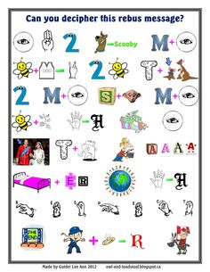 this is a fun Patrol activity… Rebus Puzzles, Word Puzzles, Puzzles For Kids, Brownie Girl Scouts, Girl Scout Troop, Word Brain Teasers, Brownie Guides, Rainbow Promise, Jokes And Riddles