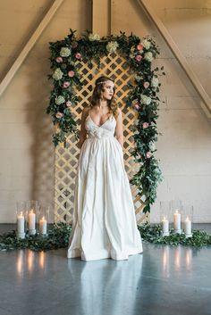 rich hued Portland wedding inspiration - photo by Lauryn Kay Photography http://ruffledblog.com/rich-hued-portland-wedding-inspiration