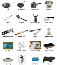 Kitchen Utensil Vocabulary | The 3 Kings English Academy Blog
