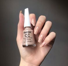 CC 004 Pure Beige - Make-up / Nagellack . Cute Nails, Pretty Nails, Nail Paint Shades, Nail Polish, Blue Nail, Fall Acrylic Nails, Healthy Nails, Nail Supply, Dream Nails