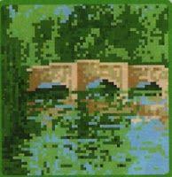 Professione Donna: Schema punto croce: Paesaggi n°2