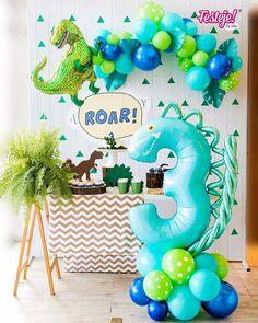 Third Birthday, 3rd Birthday Parties, Birthday Party Decorations, Boy Birthday, 3 Year Old Birthday Party Boy, Birthday Ideas, Cadeau Baby Shower, Idee Baby Shower