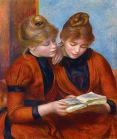 Two Sisters - Pierre Auguste Renoir - The Athenaeum