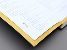 Brand identity and menu design for Tangent Café created by Fivethousand Fingers