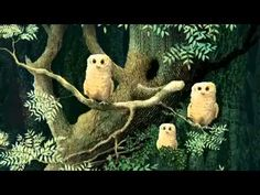 Owl Babies Picture Book Animation - YouTube