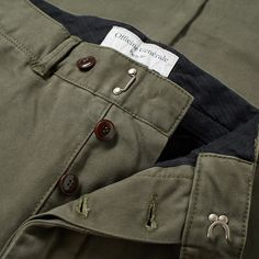 The Officine Generale New Fisherman English Twill Chino is a contemporary take on a classic workwear staple. Constructed from a…