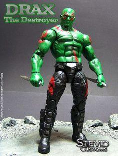 Drax (Marvel Legends) Custom Action Figure by Stevid