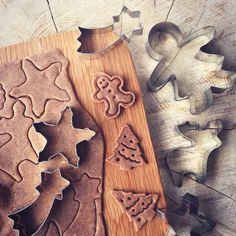 Home made ginger cookies :) All natural and ready for guests. Also a little surprise - kids can cut their own and take home ☃ @ Dune Restaurant Cafe Lounge in Mielno