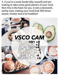 Best filter for FOOD !