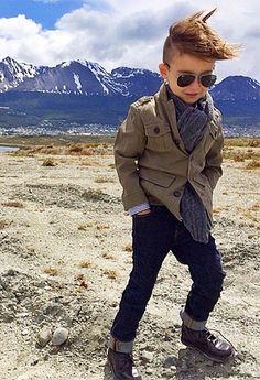 37 Ideas fashion kids boy style for 2019 Fashion Kids, Toddler Boy Fashion, Little Boy Fashion, Girl Fashion, Girl Toddler, Fashion Hair, Fashion Black, Fashion 2020, Fashion Clothes