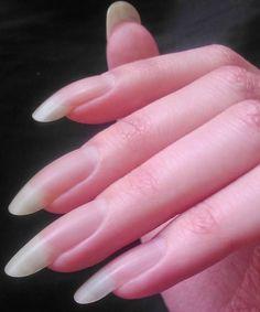 Bad B Acrylic Nails. Luxury Bad B Acrylic Nails. How to Remove Acrylic Nails at Home – Super Sexy Nails, Trendy Nails, Cute Nails, Long Round Nails, Real Long Nails, Short Nails, Long Nail Beds, Nail Manicure, Nail Polish