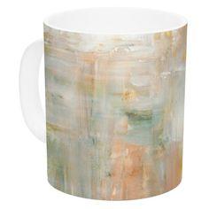 East Urban Home Coffee by CarolLynn Tice 11 oz. Paint Ceramic Coffee Mug