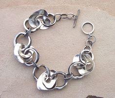 Sterling silver bracelet - Lesley Aine Mckeown
