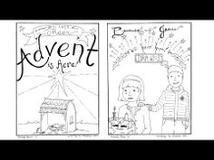 Worksheet. Sheet three of Advent coloring book Click here to download this