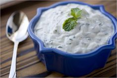 Persian Cucumber Yogurt - Maast-o Khiar