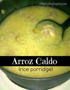 Extremely Easy Couponing: Arroz Caldo (rice porridge) recipe - filipino dish!