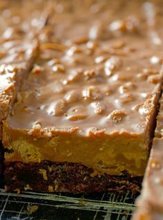 Crispy Peanut Butter Cup Brownies - It's no wonder they're also known as Better-Than Crack Brownies. They're so addicting. They're literally as rich as fudge.