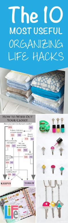 Make your life easier with these Organize based life hacks!  This blog is full of all things organized!