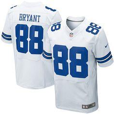 NFL Youth Elite Nike NFL Dallas Cowboys  88 Dez Bryant White Jersey  Football Jerseys 814c24d8f