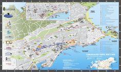 Mapa Turístico de Santander 2012