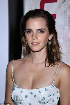 Image result for emma watson cleavage