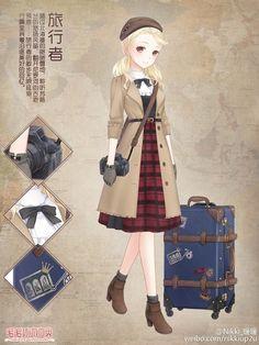 Anime,Anime Fashion,Traveler