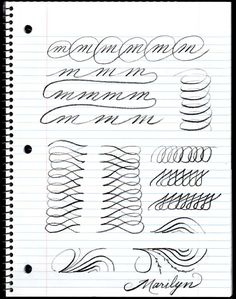uppercase alphabet in copperplate : guidelines, practice