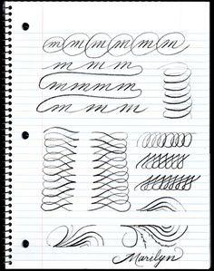 Penmanship Practice
