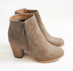 Brand new in box ankle boots Purchased these but they are too small. Never worn just tried on. Just trying to sell them for what I paid. Price is firm Shoes Ankle Boots & Booties Ugg Boots, Bootie Boots, Shoe Boots, Fall Boots, Women's Booties, Brown Booties, Heeled Boots, Beige Ankle Boots, Women's Shoes