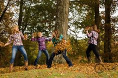Fun picture to take with friends and siblings!