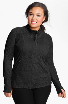 eb31806a196 Moving Comfort  Flow  Lightweight Burnout Jacket (Plus Size) available at   Nordstrom