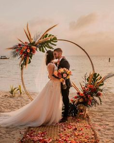 33 Timeless Wedding Altar Decoration Ideas ❤ wedding altar decoration arch beach #weddingforward #wedding #bride
